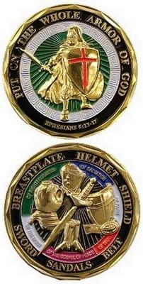 Whole Armor Of God coin