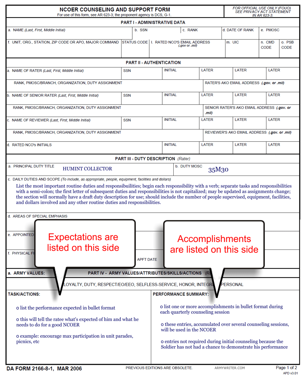 Da Form 638 Fillable Da Form 638 Business Form Templates 2011 2017 ...