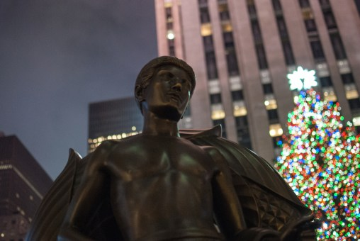 Prometheus' «Jugend» vor dem Rockefeller Center in New York