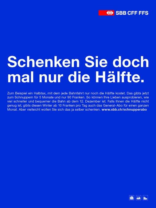SBB Halbtax
