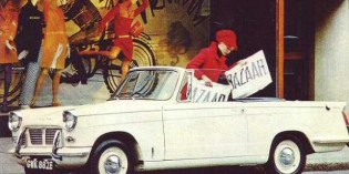 The cars : Triumph Herald/Vitesse