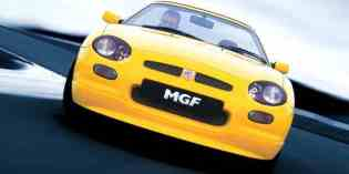 The cars : MGF/TF development history