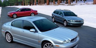The cars : Jaguar X-Type