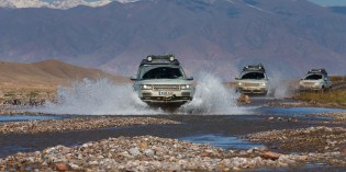 Events : Land Rover Silk Trail 2013 reaches half-way point