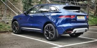 Blog : Seeing the F-Pace in the wild for the first time