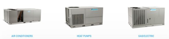 Chicago Commercial rooftop furnace & air conditioners
