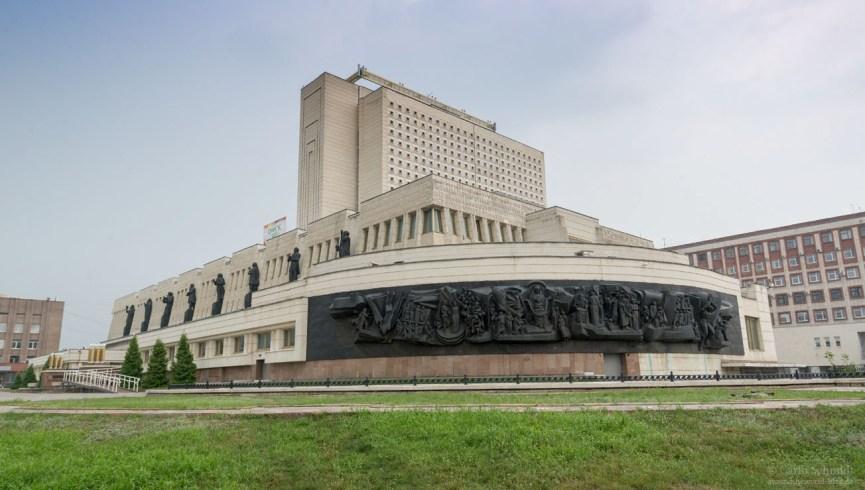 Bibliothek in Omsk