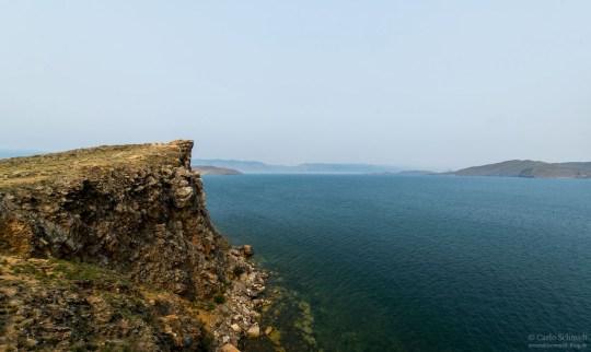 Klippe am Baikalsee