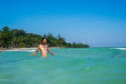 Carlo am Lalaji Bay Beach