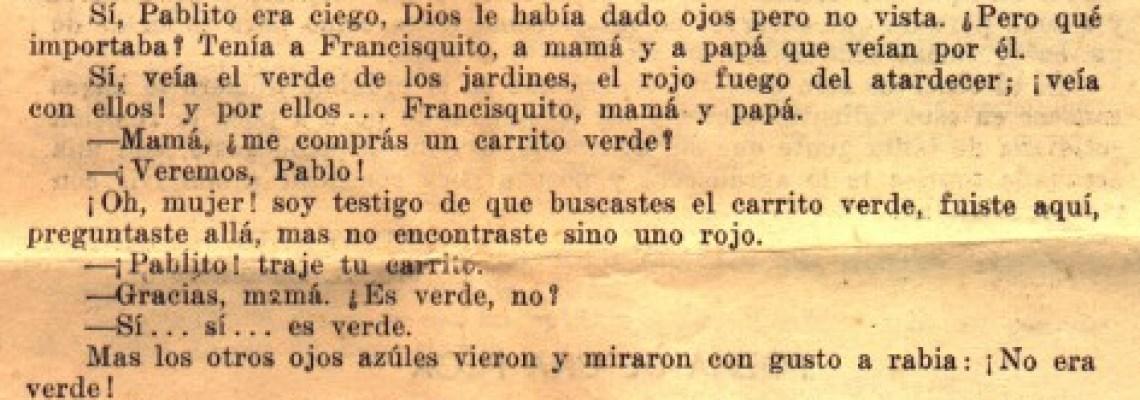 """Publicación de Angel en quinto del Comercial en """"Periodismo Estudiantil"""""""