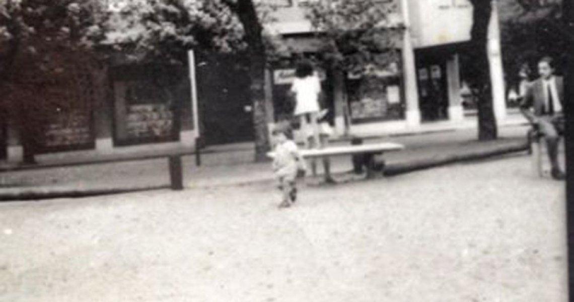 Foto de la infancia de los hijos de Gastón