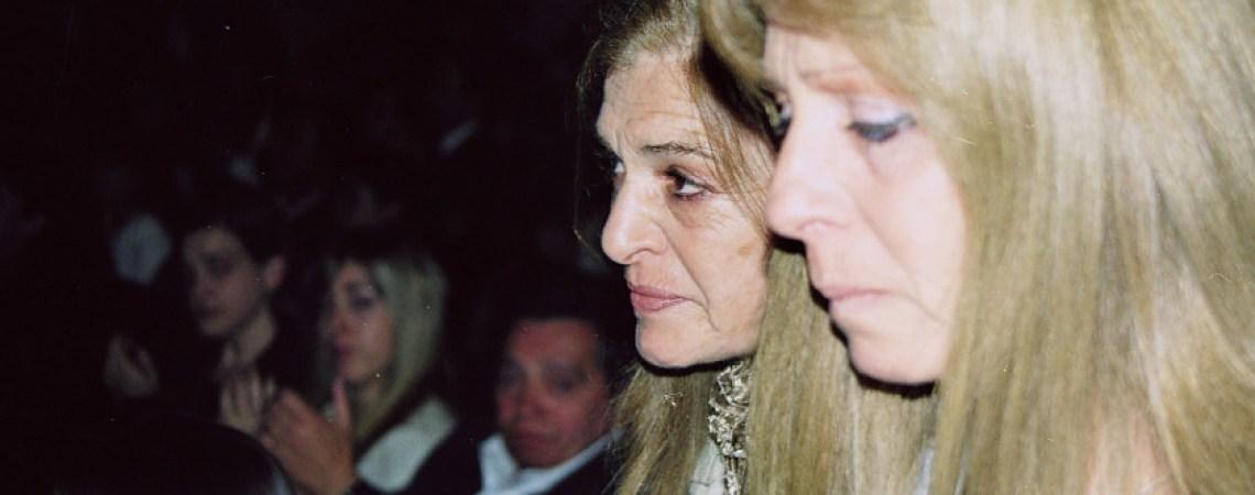 Estela y Alicia en homenaje del BNA