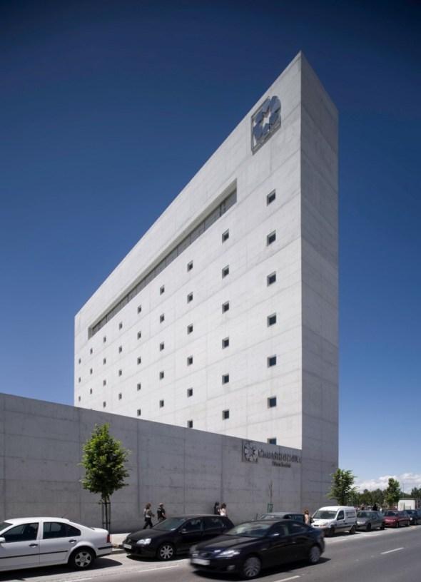 Museo de la memoria de andaluc a en granada alberto campo baeza - Campo baeza caja granada ...