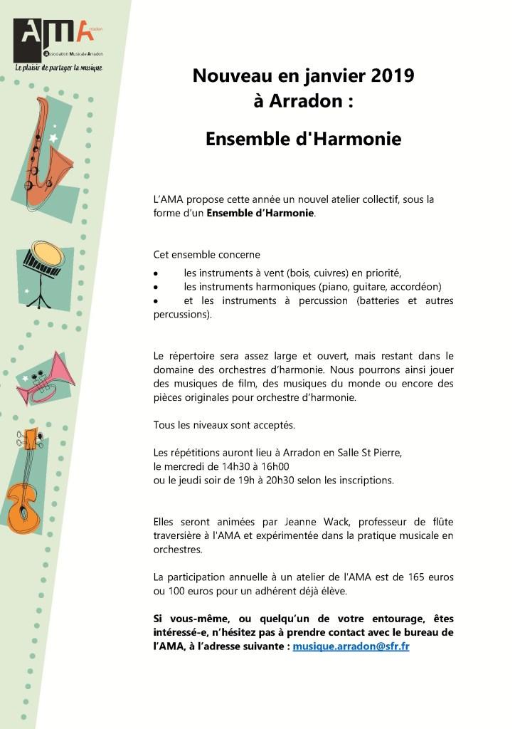 20182019 Ensemble Harmonie AMA
