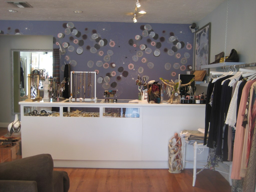 The adorable Westerley boutique in Coronal Del Mar.