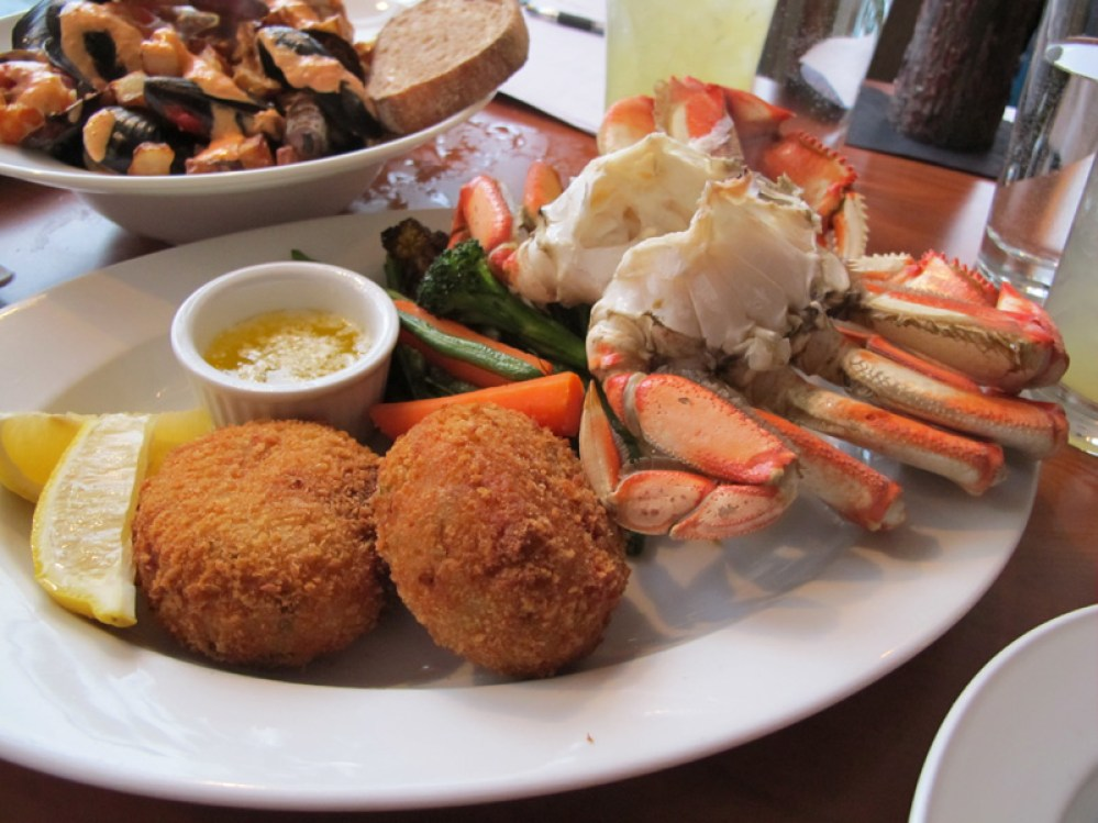 Seafood in Tofino