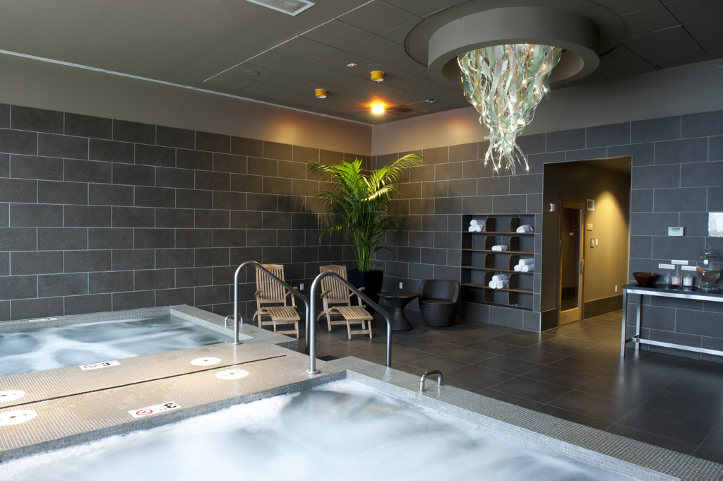 Relaxation room at the Yuen Spa in Bellevue, Washington