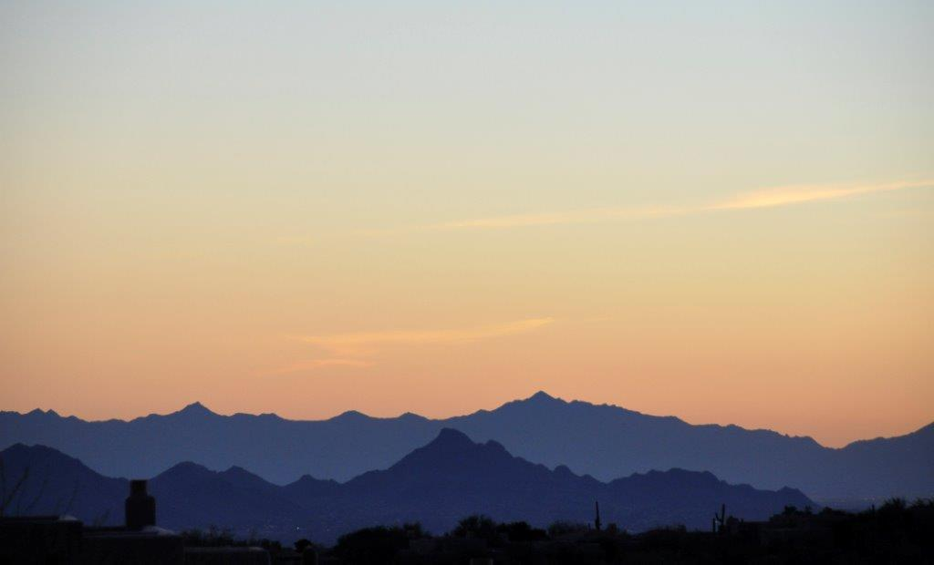 Sunsets from Four Seasons Resort Scottsdale Talavera
