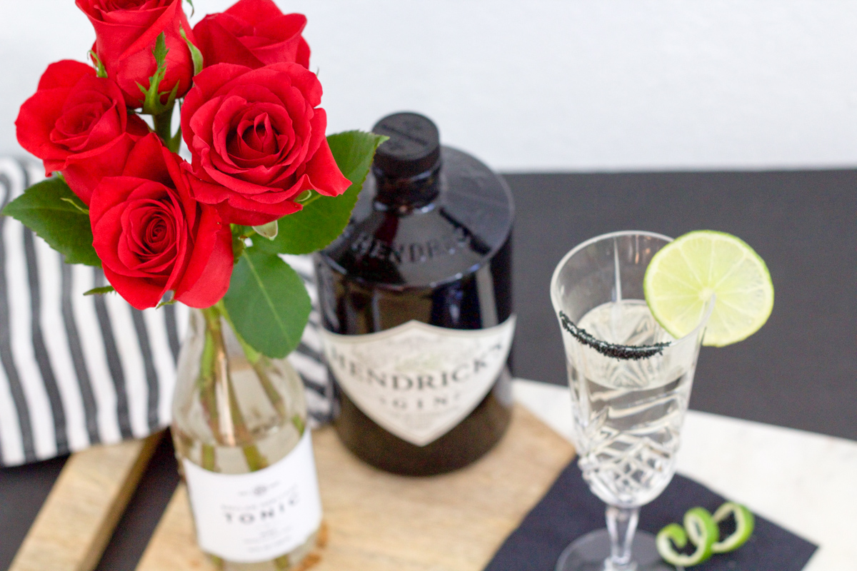 Rose Gin and Tonic