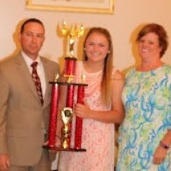 Cami (White) Fisk Award Molly Cleveland