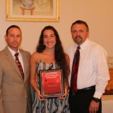 Female Coach's Award Jessica Mann - Girl's Soccer, Indoor Track, Softball
