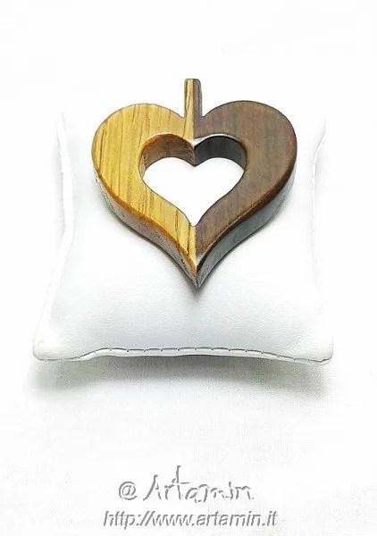 ciondolo MYlove in legno - shop Artamin