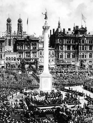 Dedication of Dewey Monument by Teddy Roosevelt