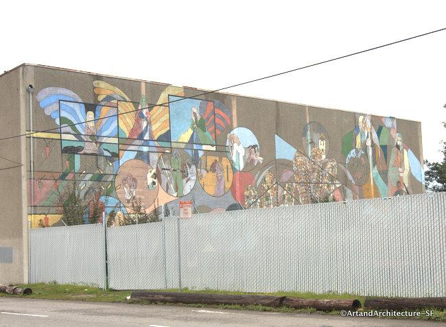 Candlestick Point Community Garden Mural