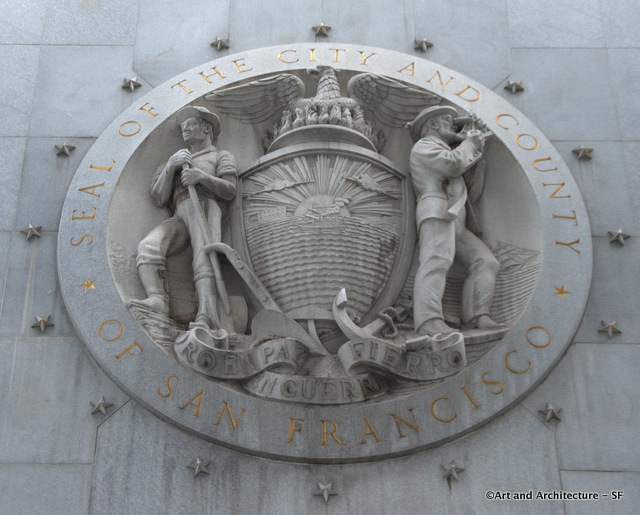 Hall of Justice Medallion by Spero Anargyros