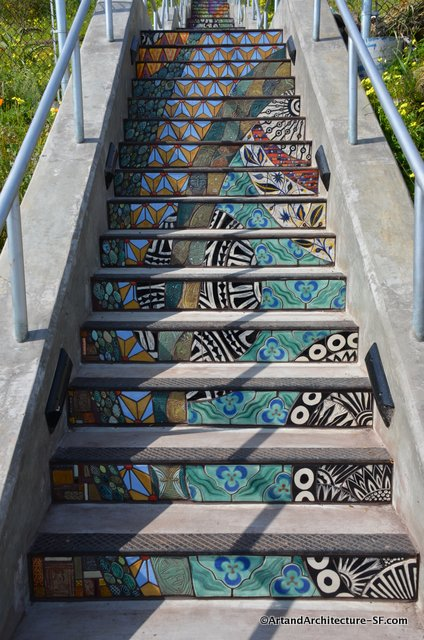 Collette Crutcher Aileen Bar Stairways