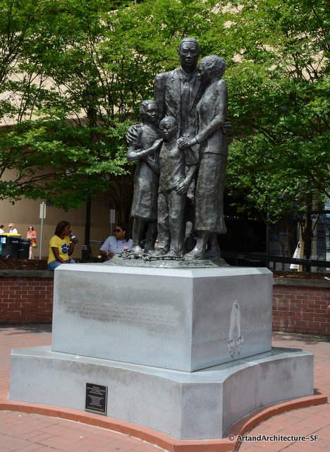 Savannah's African American Monument