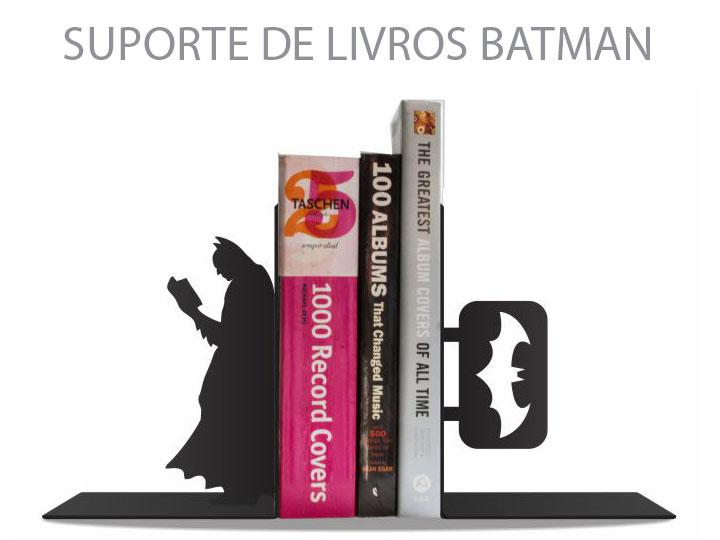 Suporte de Livros Batman