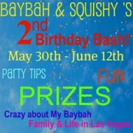 Baybah and Squishy's 2nd Birthday Bash Giveaway- Sprig Toys