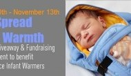 #SpreadtheWarmth Charity Fundraising Giveaway Event {Sponsor Spotlight}