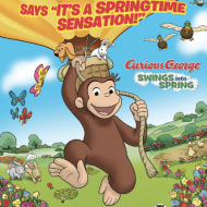 Celebrate Earth Day With Curious George As He Swings Into Spring