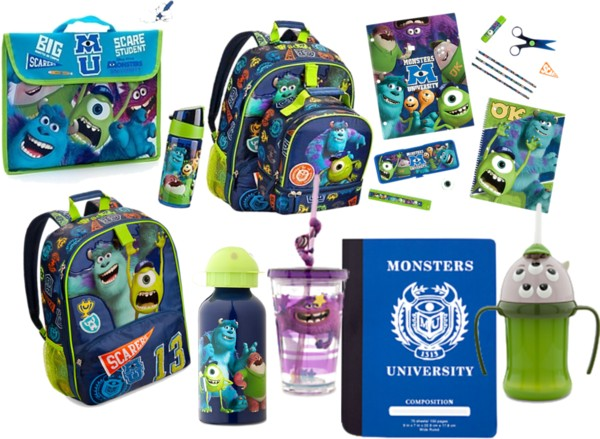 Monsters University Back to School Supplies #MonstersUPremiere