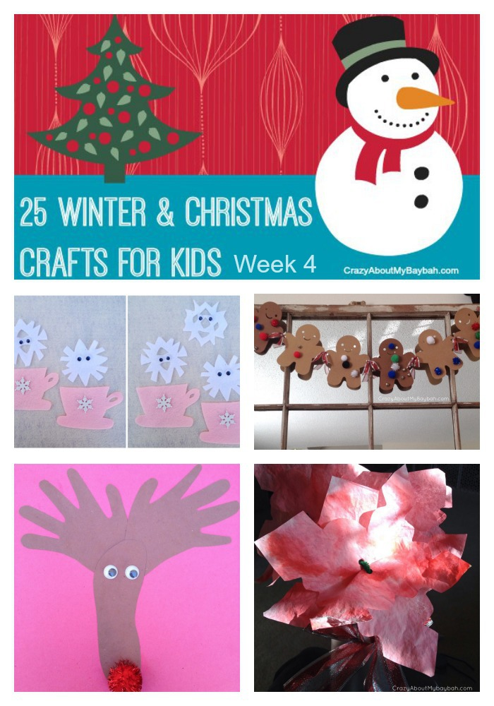 25 Winter and Christmas Crafts for Kids | Week 4
