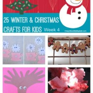 25 Winter and Christmas Crafts for Kids   Week 4