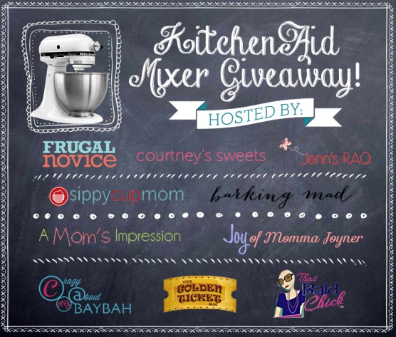 Amazing KitchenAid Mixer Giveaway
