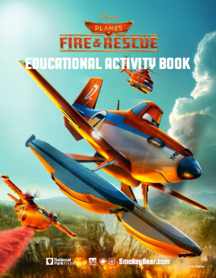 Disney Planes: Fire & Rescue | Fire Safety Educational Book