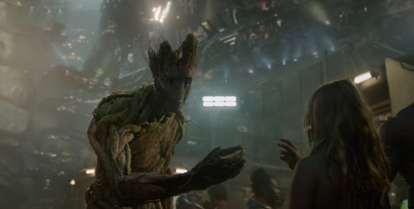 Vin Diesel Groot Guardians of the Galaxy #GuardiansoftheGalaxyEvent