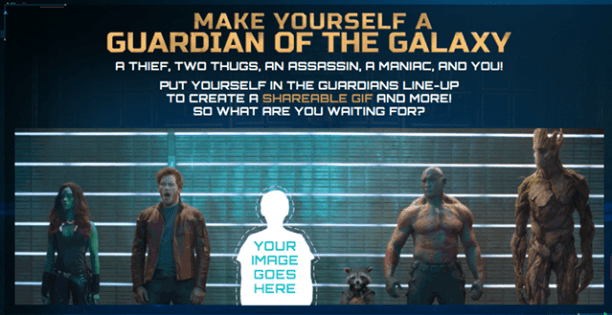 Put yourself in the Guardians of the Galaxy Lineup!
