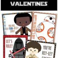 Free Printable Star Wars The Force Awakens Valentines