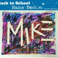 Back to School Name Design