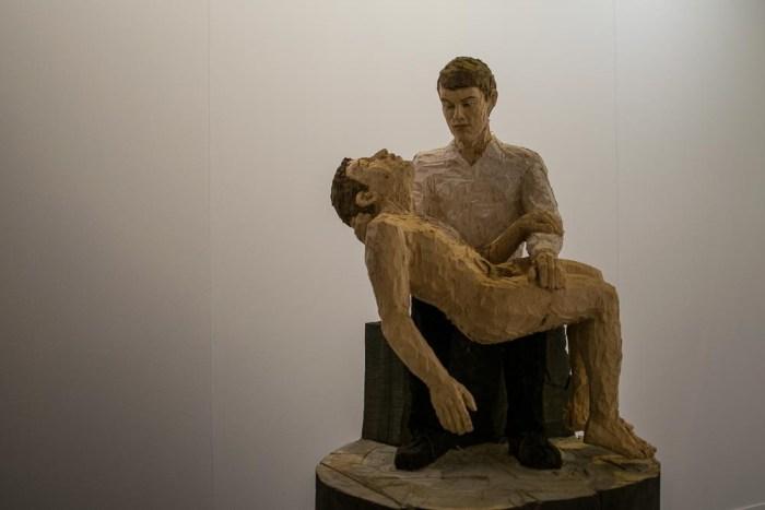 Stephan Balkenhol-Galerie Forsblom-ARCO 2015