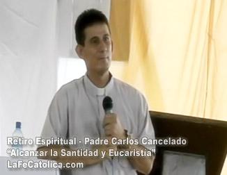 Retiro Espiritual - Padre Carlos Cancelado