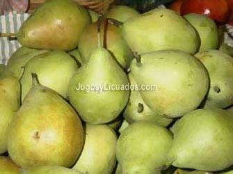 Licuado de Manzana y Pera
