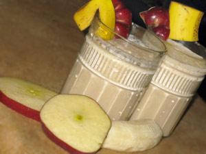 Licuado de Plátano, Manzana, Avena y Miel para Evitar la Obstrucción de Arterias