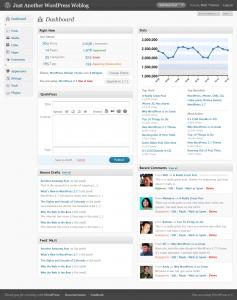 Tablero WordPress 2.7