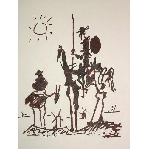Medium Crop Of Picasso Don Quixote